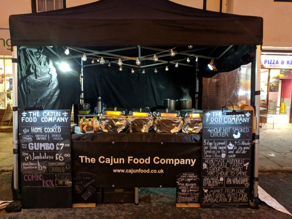The Cajun Food Company Stand